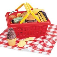 Learning Resources Pretend and Play Picnic Food Basket