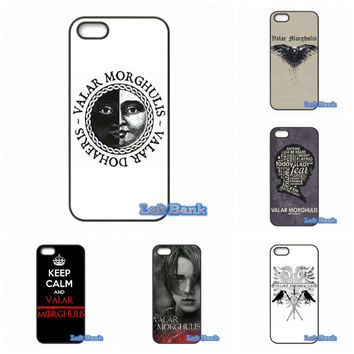 HanHent Valar Morghulis Game Of Thrones Phone Cases Cover For 1+ One Plus 2 X For Motorola Moto E G G2 G3 1 2 3rd Gen X X2