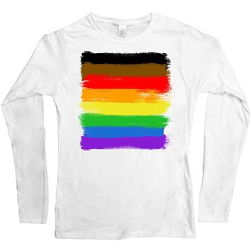 Philly Pride Flag -- Women's Long-Sleeve