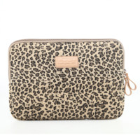 "Leopard  Macbook Laptop Air Pro Canvas Fabric Sleeve Case Bag 10"" 11"" 12"" 13"" 14"" 15"" -N0026"