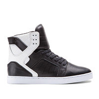 SKYTOP LX BLACK/WHITE - WHITE | Official SUPRA Footwear Site