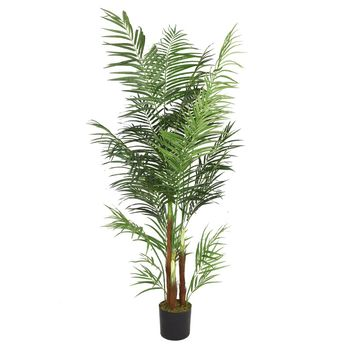 "76"" Artificial Areca Palm Tree"