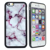 Cute Marble Pattern Rubber Case Cover for iPhone  4S 5 5S 5C 6 6S Plus Back Case