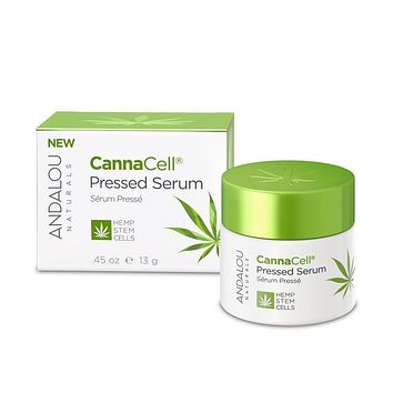 Andalou Naturals Pressed Serum, Cannacell - 0.45 Oz