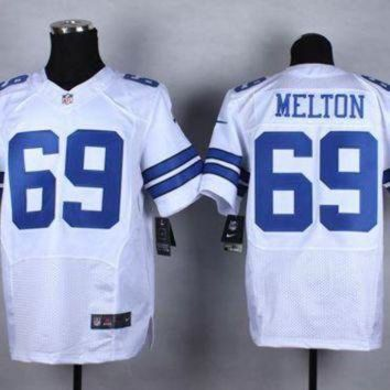 PEAPNO Nike Dallas Cowboys #69 Henry Melton White NFL Elite Jersey