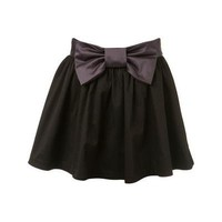 --- Black Bow Front Skirt - - - Avenue7 - Express your fashion