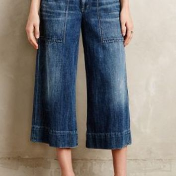 Citizens of Humanity Posie Wide-Leg Crop Jeans Lasso