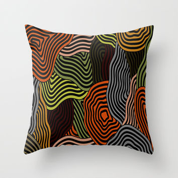 Mix and Match Throw Pillow by Texnotropio