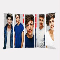 One Direction Cool Smile , Custom Pillow Case Cover Design. Choose for size