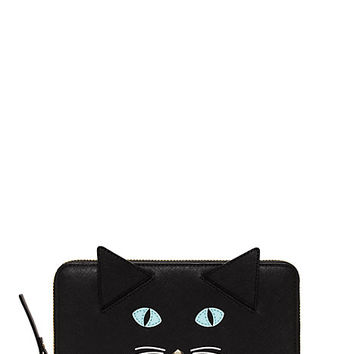 Kate Spade Cat's Meow Cat Lacey Black Multi ONE