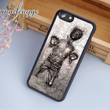 Star Wars Force Episode 1 2 3 4 5 maifengge  han solo in carbonite Case For iPhone 6 6S 7 8 Plus X 5 5S SE Case cover for Samsung S5 S6 S7 edge S8 Plus AT_72_6