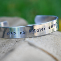 keep my service member safe bracelet. marine soldier airman coastie sailor. military jewelry