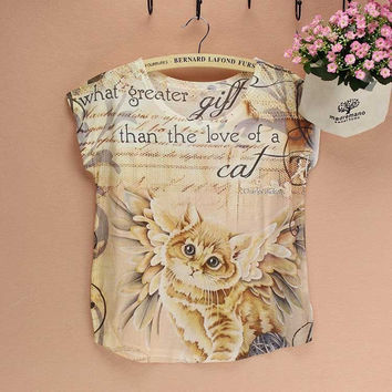 Love of a Cat Tee Shirt