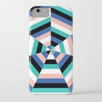 Heptagon Quilt 3 iPhone & iPod Case by Fimbis