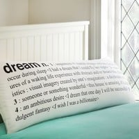 Dream Body Pillow Cover