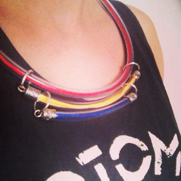 Layered Tribal inspired necklace