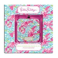 Lilly Pulitzer - Mobile Charger 8-Pin - Lobstah Roll