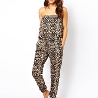 River Island Animal Jumpsuit at asos.com