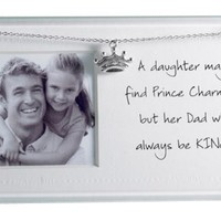 Mud Pie Picture Frame, Dad And Daughter
