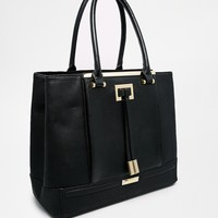River Island Pleat Front Tote