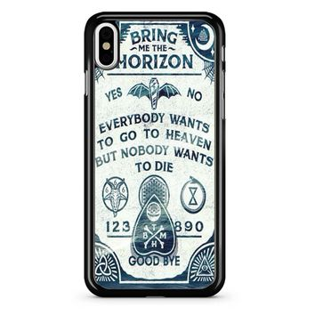 Bring Me The Horizon Ly iPhone X Case