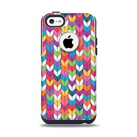 The Color Knitted Apple iPhone 5c Otterbox Commuter Case Skin Set