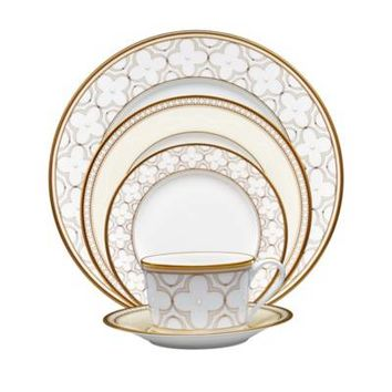 Noritake® Trefolio Gold Dinnerware Collection