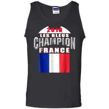 2018 France Soccer TShirt Team Les Bleus Cup tees Tank Top
