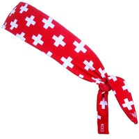 Switzerland Cross Elastic Tie 2.25 Inch Headband