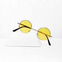 Free Love Round Shades - Yellow