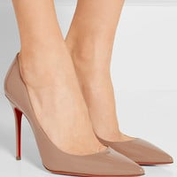 Christian Louboutin - Décolleté 100 patent-leather pumps
