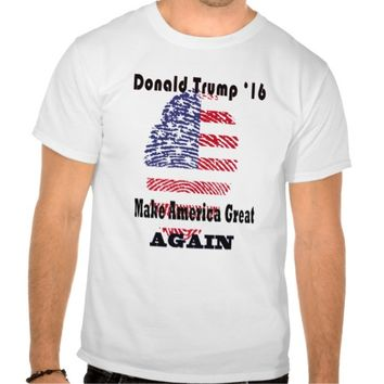Donald trump president 2016, make america great t shirt