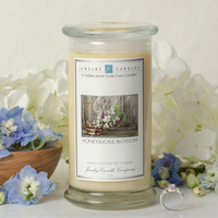 Honeysuckle Blossom Jewelry Candle