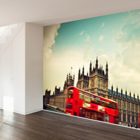 Big Ben and the Palace of Westminster Wall Mural Decal
