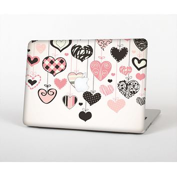 The Hanging Styled-Hearts Skin Set for the Apple MacBook Pro 15""