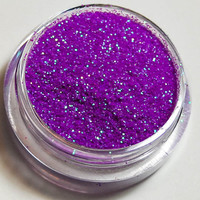 Idiosyncratic Cosmetic Glitter - Neon Purple / Green - 3 Gram Sifter Jar