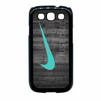 Nike Mint Just Do It Wooden Samsung Galaxy S3 Case