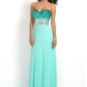 Intrigue by Blush 2 Strapless Sweetheart Gown