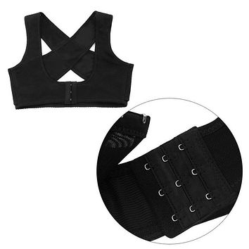 Back Shoulder Support Brace Corset Bra For Women Posture Corrector