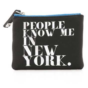 People Know Me in New York Betty Pouch