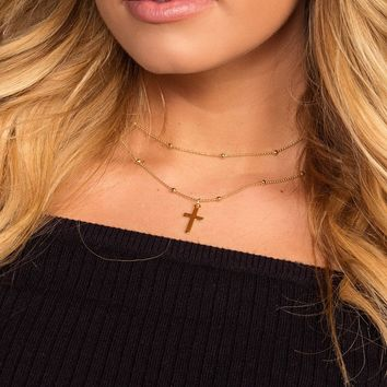 Cross The Limits Necklace