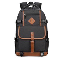 Retro Oxford Cloth Waterproof Backpack Computer Bag Large Outdoor Travel Men's Backpack