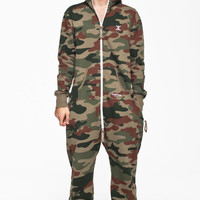 Camouflage Onesuit - Mens