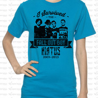 Fall Out Boy Hiatus Shirt  I Survived the Fall by PaperWingsPress