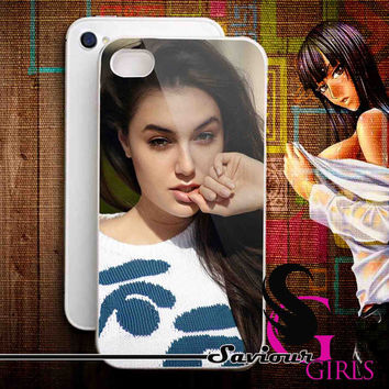 Sasha Grey Sexy for iPhone 4/4S, 5/5S, 5C and Samsung Galaxy S3, S4 - Rubber and Plastic Case
