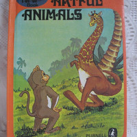 Vintage Childrens Book A Novelty POP - UP Book Artful Animals Purnell and Sons 1969