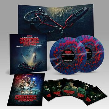 Kyle Dixon & Michael Stein: Stranger Things Vol.1 Deluxe Edition (180g, Colored Vinyl) Vinyl 2LP - PRE-ORDER