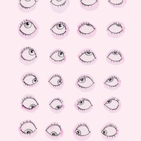 Eye Roll Art Print by Ambivalently Yours   Society6