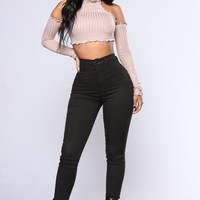 Cream Of The Crop Top - Taupe