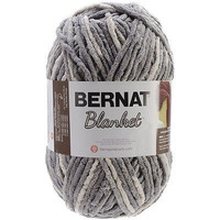 Bernat Blanket Yarn Super Bulky  Silver Steel Large Skein